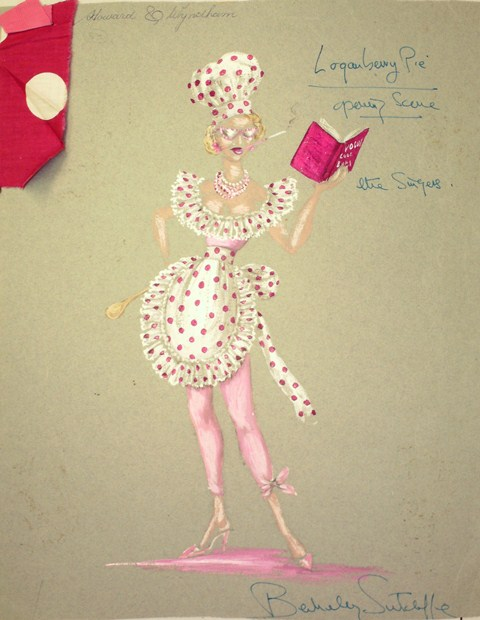 Image of costume design for the Scottish Theatre Archive