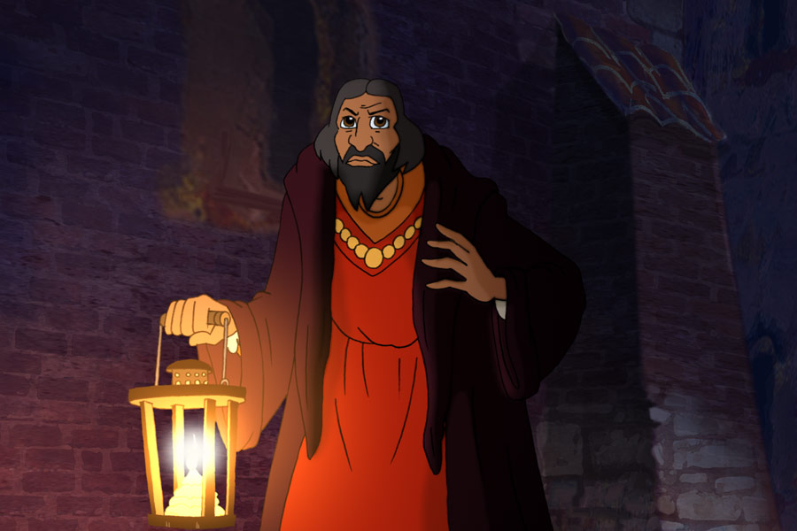 Still taken from animation 'The Star of Copernicus' courtesy of The Animation Film Studio LLC