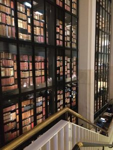 The-Kings-Library-Tower-at-the-British-Library-houses-books-collected-by-King-George-III